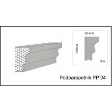 Podparapetnik PP 04