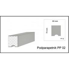Podparapetnik PP 02